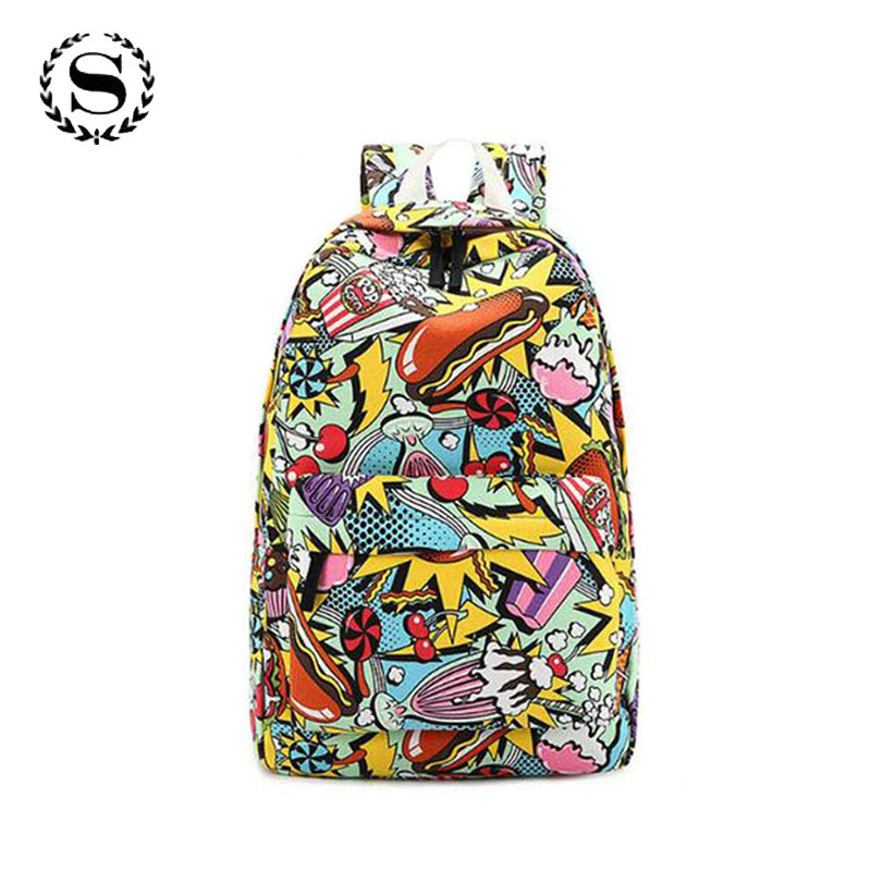 2018 South Park Cartoon Women Backpacks School Bags For Teenage Girls College High School Casual Daily Backpack For Student Bags cartoon melanie martinez crybaby backpack for teenage girls school bags backpack women casual daypack ladies travel bags