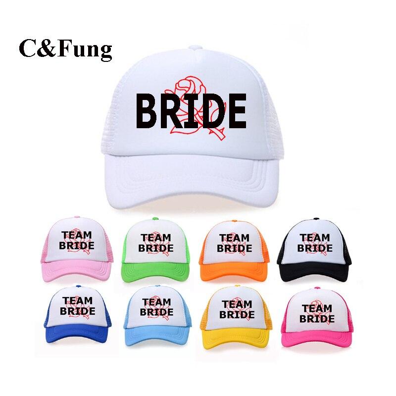 C Fung Neon CUSTOM designer Bachelorette Hats FLORAL background bridal  party Trucker Hat snapback beach vacation cap hats 258577b2e0d