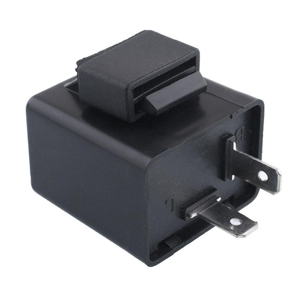 12V 2 Pin Flasher Blinker LED Indicator Turn Signal Stock Power Relays Switch Power