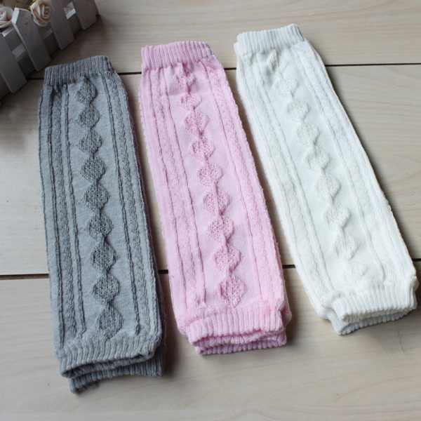 Perakende bebek saf renk bacak ısıtıcıları kız erkek kız pamuk beyaz siyah gri tayt 6 renkler bebek kız emekleme çorap