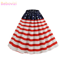 Bebovizi Faldas Mujer Moda 2019 Plus Size Skirts Womens Short Skirt Plaid Kawaii  Mini