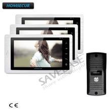 HOMSECUR 1C3M 7 «Hands-free видео и аудио смарт-дверной звонок с сенсорной кнопки монитор