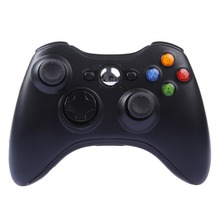 BLUELOONG Wireless Joypad Gamepad Black Controller For Xbox 360 Joystick For Official Microsoft PC for Windows for 360xbox