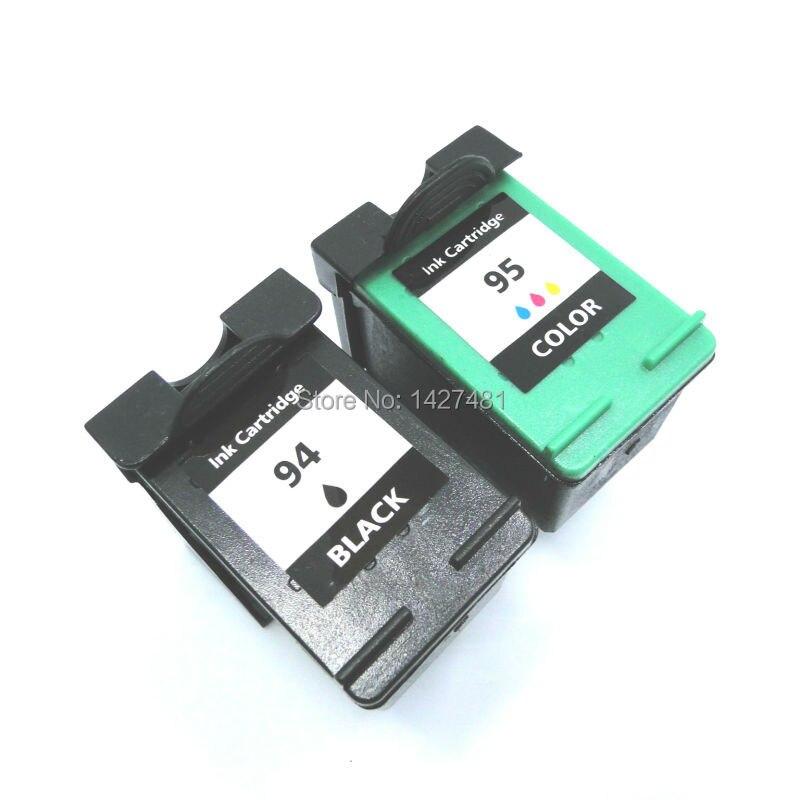 Remanufactured 94 95ตลับหมึกสำหรับhp94 95 Photosmart 2610 2710 Officejet 6210 6213 6215เครื่องพิมพ์