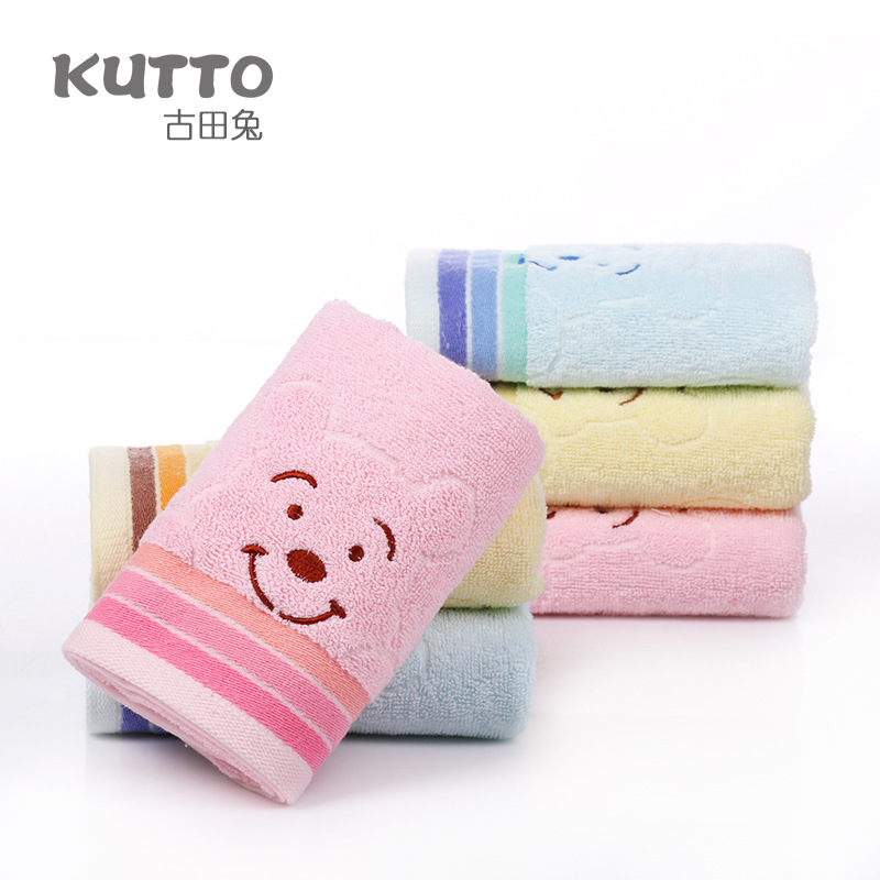 New Arrival Baby Towels Attractive Children Face Towels Kids Cartoon Towels 75x34cm