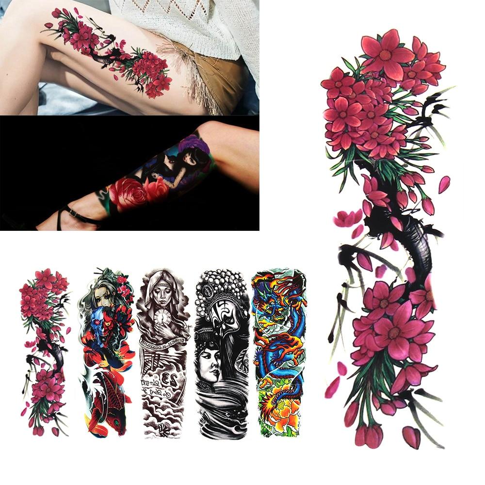Arm Cuff or Back Clear Gems Adhesive Temporary Tattoo Body Art 14 cm