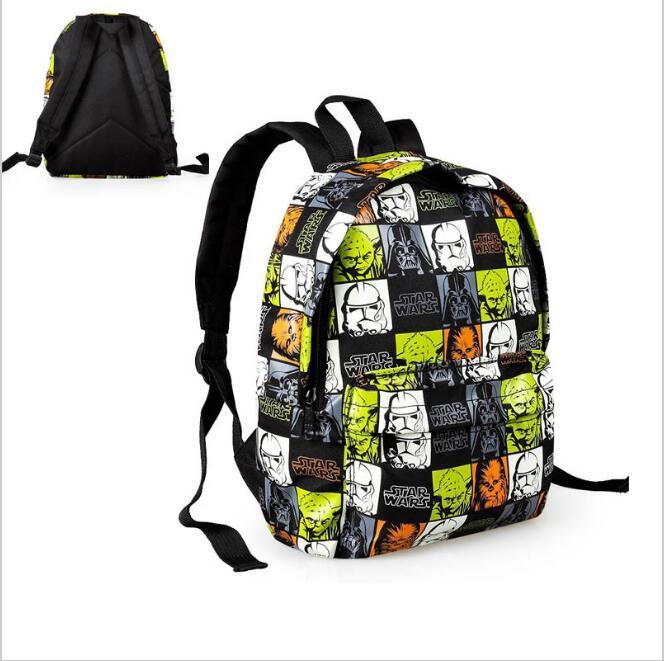 Lowest price new arrival children s Star Wars cartoon font b backpack b font kindergarten school