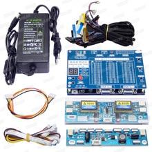T V18 Test Aracı için Panel LED LCD Ekran Test Cihazı Desteği 7 84 Inç + gerilim trafosu Kurulu + 14 ADET LVDS