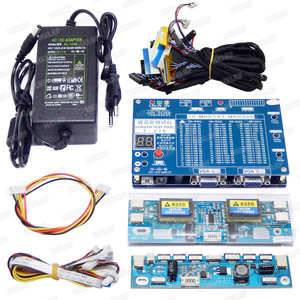 Image 1 - T V18 Test Tool for Panel LED LCD Screen Tester Support  7 84 Inches +Voltage Transformer Board + 14PCS  LVDS
