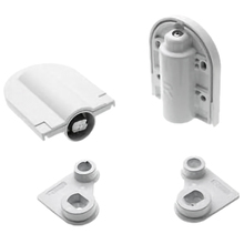 2Pcs Adjustable Table Hinges Door Lift Support Connector Heavy Hinge for Dresser Dressing Table Furniture Hardware,White 2pcs furniture metal replacement lid support hinge stay silver tone furniture hinges for desks and lift lids a stop position