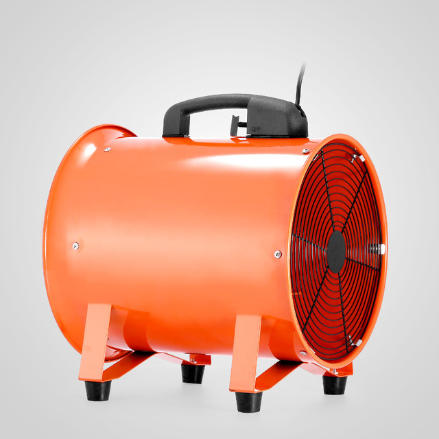VEVOR Utility Blower Fan 12 Inch Portable Ventilator High Velocity Utility  Blower Mighty Mini Low Noise