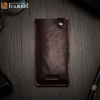 ICARER For IPhone7 Pouches Bags Universal Mobile Phone Leather Cover Phone Cases For IPhone 7 Etc