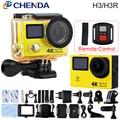 Original EKEN H3/170D H3R Câmera Ação Wi-fi Ultra HD Ir À Prova D' Água cam mini pro tela dupla do esporte câmera gopro hero 4 estilo