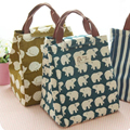 New FashionLunch Bag Pouch Storage Box Insulated Thermal Bento Cooler Picnic Tote High Quality Free Shipping