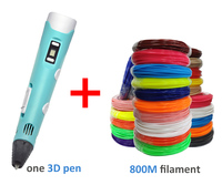 1.75mm PLA 3d pen filament 800 meters choice Scented Environmental safe 3D handle plastic the best KIDS Birthday gift