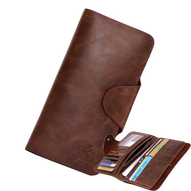 Neue männer brieftaschen aus echtem Leder Geldbörse für männer phone cases Gent Leder männliche handtasche geldbörsen leder geldbörsen carteira masculina