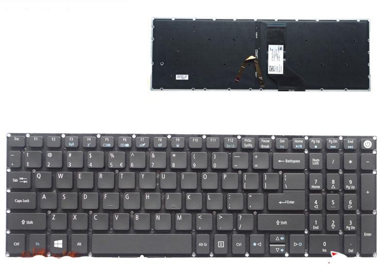 New for Acer Aspire E5 573G E5 573T E5 573TG E5 722 E5 772G V3 575 V5 591G E5 532G laptop US keyboard backlit