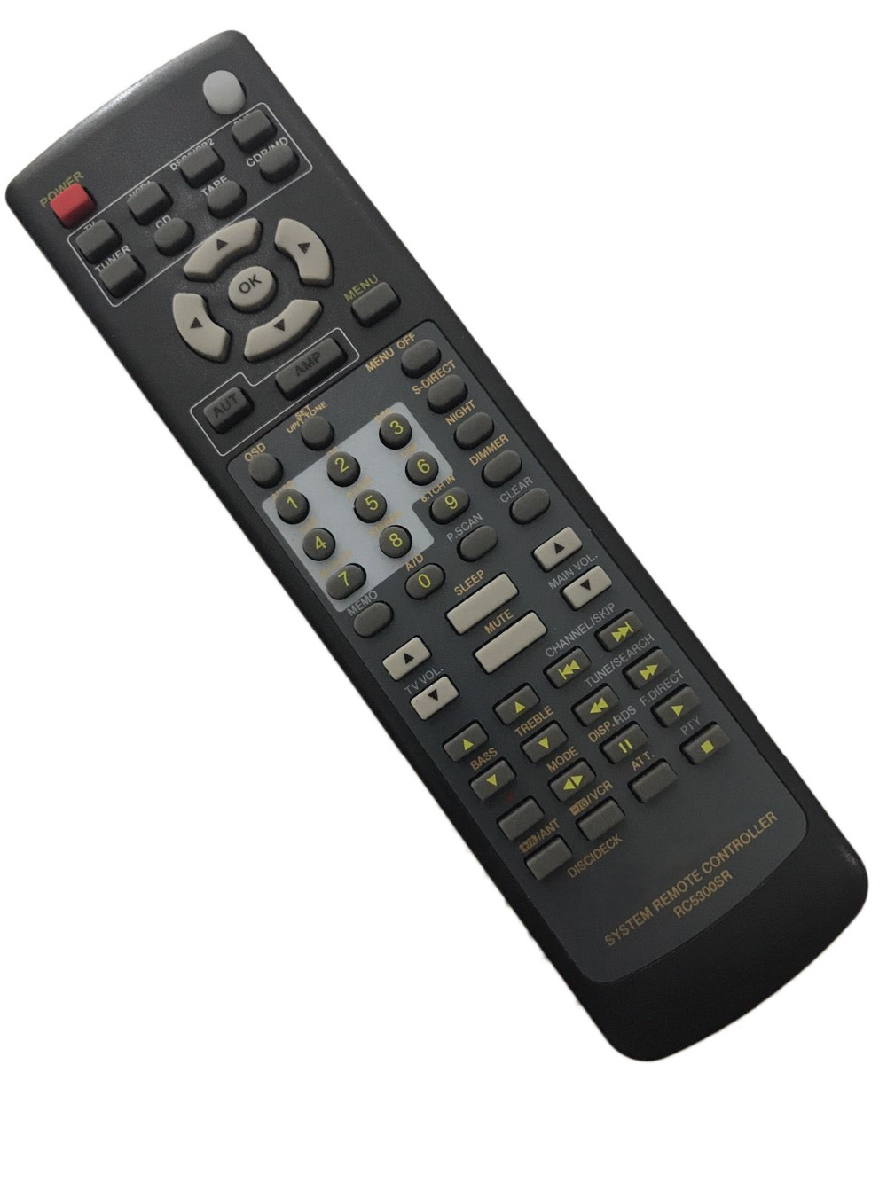 RC5300SR Replacement Remote Control for Marantz SR4200 SR4300 SR4400 SR4600  SR5200 SR5300 AV Receiver-in Remote Controls from Consumer Electronics on  ...