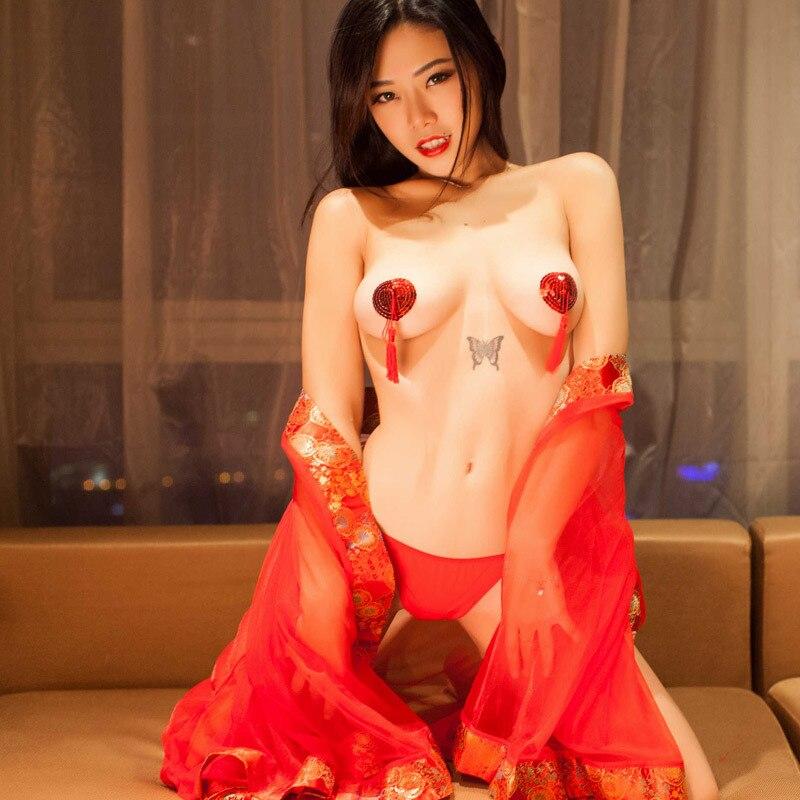 New Hot 1 Pair Sexy Pasties Stickers Women Lingerie Sequin Tassel Breast Bra Nipple Cover