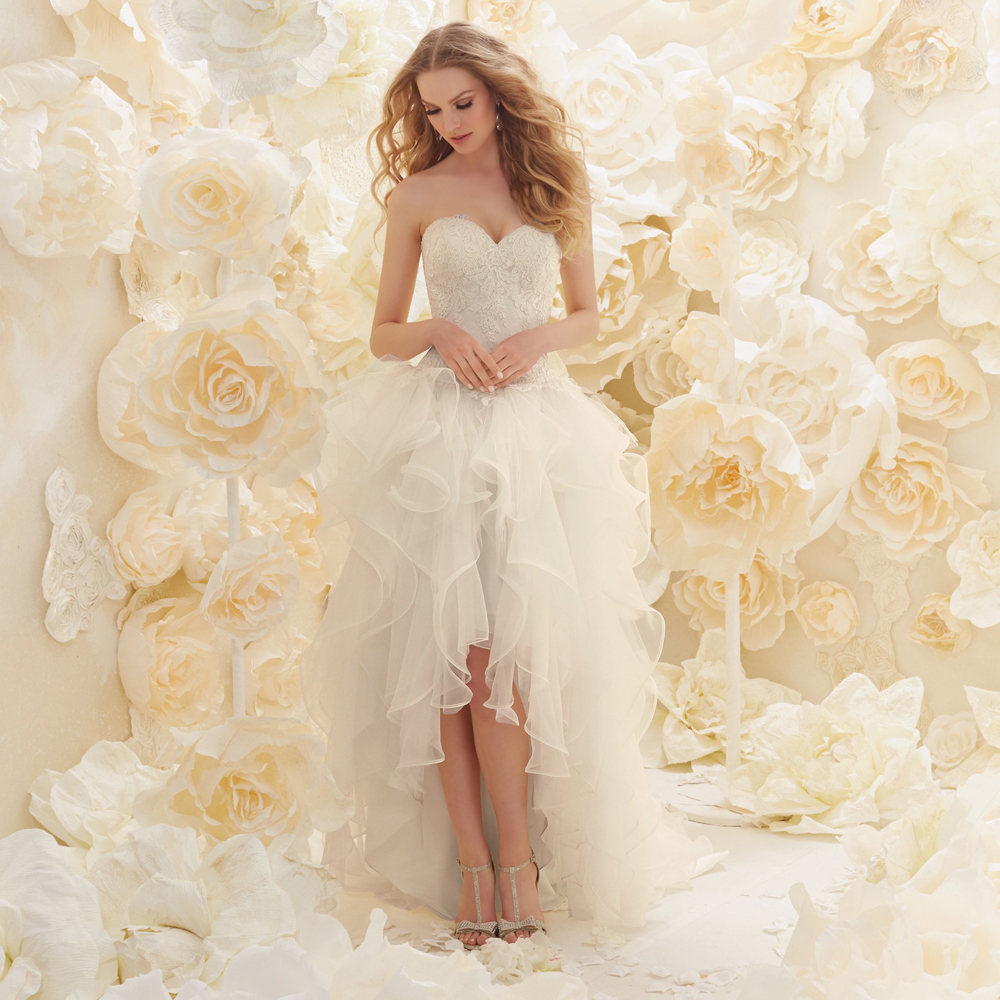 New Arrival Sweetheart Berydress Bridal With Ruffles