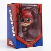 The Justice League Super Hero The Flash Cute Lovely Doll PVC 9cm Figurine Action Figure For