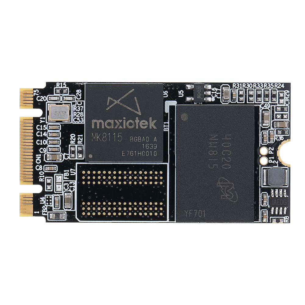 все цены на 50% OFF kingspec 42*22mm slim NGFF hd ssd 32GB 64GB 128GB 256GB Pcie msata Solid State Drive for Thinkpad E53 S5 T440S