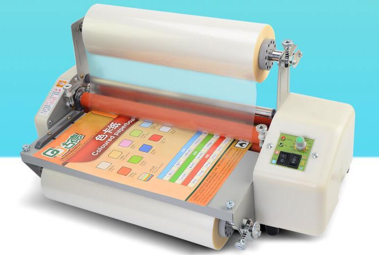 Machine à plastifier automatique A3 photo publicitaire simple face double face machine à film photo plastifieuse chaude et froide