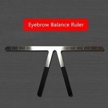Profession Eyebrows Makeup Ruler 3D Balance Eye Brow Template Stencil Shaper Eyebrows Beauty Makeup Tools