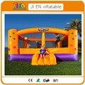 Bouncy castelo inflável trampolim bouncer para uso doméstico quintal