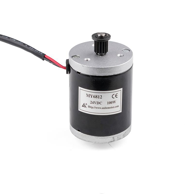 MY6812 12V DC 150W High Speed Brushed Motor E Scooter Small Electric Bicycle Brush Motor E bike Scooter Accessories KRMY 1006