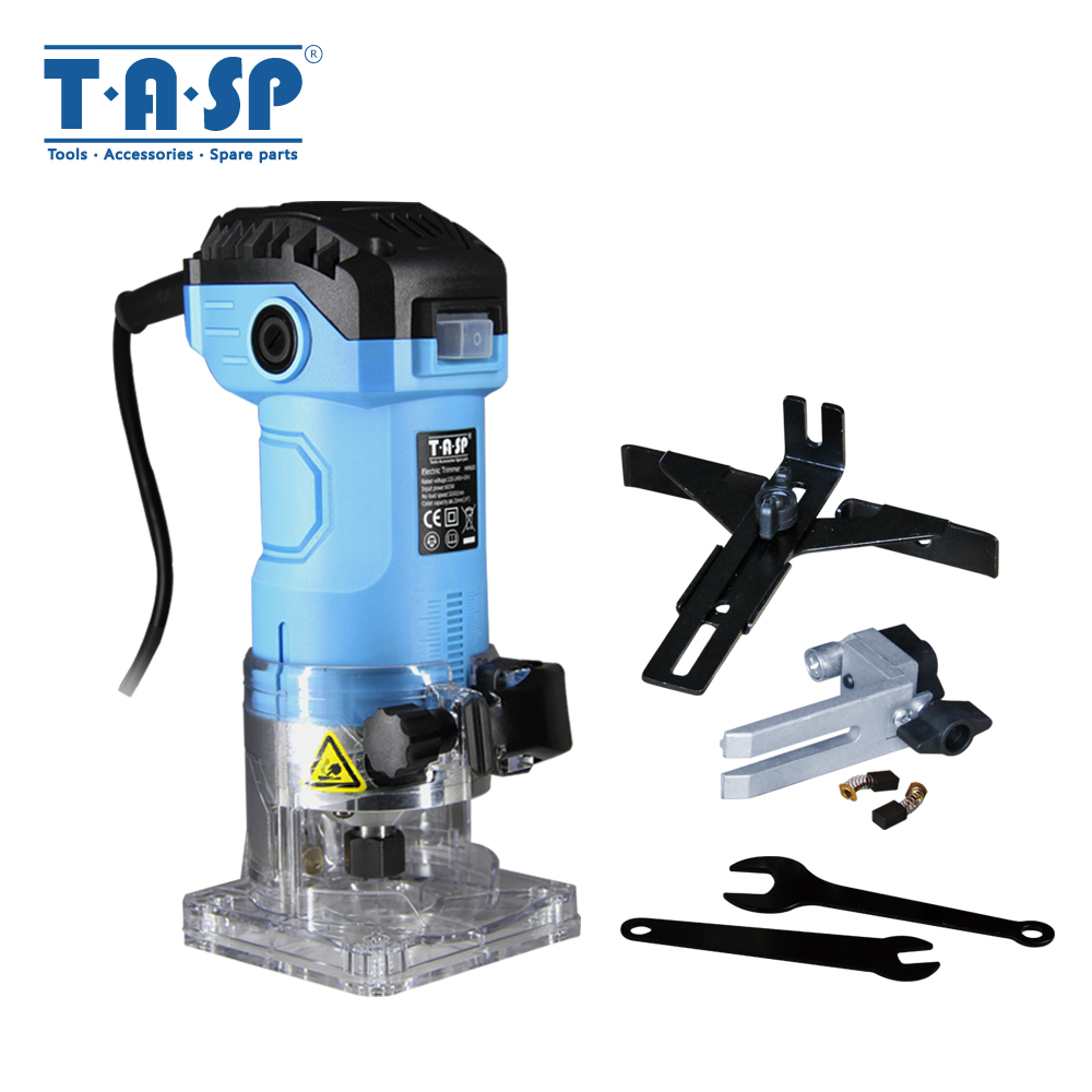 220V 600W Electric Laminate Trimmer 6 35mm Collet Mini Wood Router Woodworking Tools