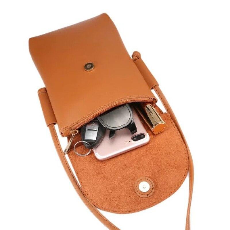 Универсальный 6.5 дюйма телефон кожаный чехол кошелек Чехол Mini Crossbody плечевой ремень для iPhone 7 7 Plus GALAXY 8 плюс 8