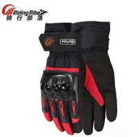 Waterproof Riding Tribe Motorcycle Gloves Winter Cold Wrestling Thermal Ski Riding Gloves Moto Locomotive Glove 3