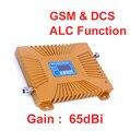 Doble banda GSM900 función ALC menor noice 900 mhz DCS 1800 MHz refuerzo repetidor GSM, DCS booster GSM DCS teléfono señal ampliadora