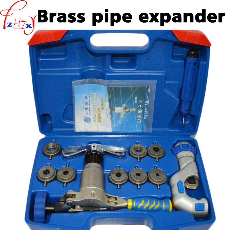 New Brass pipe expander WK-519FT-L one-piece eccentric copper pipe flaring tool kit refrigeration tools 1pc jyj kimjunsu xia 3rd album vol 3 flower 1 random photocard release date 2015 3 18 kpop