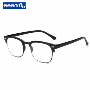 Seemfly Ultralight Clear Vision Glasses Magnifier Magnifying Eyewear Glasses Portable Gift For Parents Presbyopic Magnification