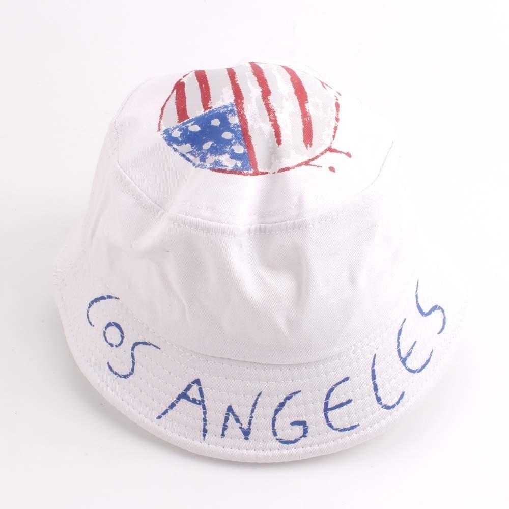 1a2d2b8526b7b4 2018 New Unisex Fashion Summer Reversible Navy Star American Flag Fisherman Caps  Bucket Hats Poliester