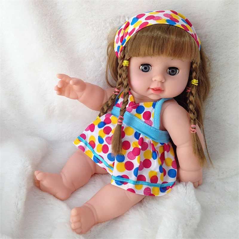 20 Вт, 30 см Reborn Baby doll мягкий винил reborn Детские игрушки для детей, игрушки ролевые игры игрушки Рождественский подарок на день рождения; наряд для фотосессии