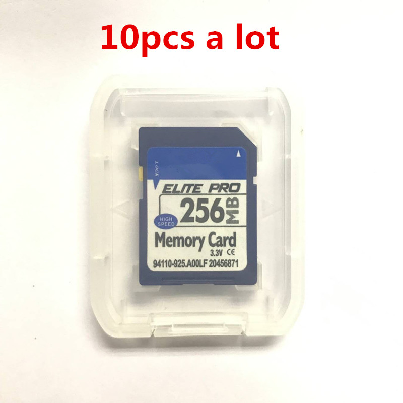 High Speed!!! 10pcs 256MB SD Flash Memory SD Card 256MB Secure Digital Flash Memory Card