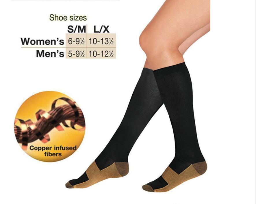 1pair Anti-Fatigue Compression Socks Tired Achy Unisex Women Men Anti Fatigue socks,Braces & Supports