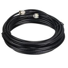 50 Ом Коаксиальный кабель 10 метров 50-5 GSM усилитель повторителя кабель n-типа антенный кабель для ретранслятора подключения наружной/внутренней антенны