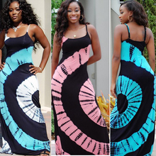 baac192271 Dashiki Ethnic Style Traditional Polyester Long Suspender Skirt Women Dress