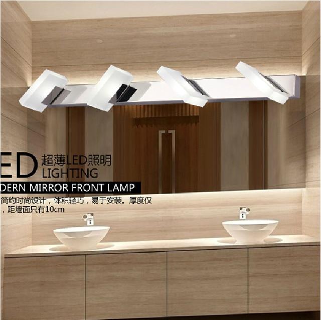 Aliexpress.com : Buy LED acrylic bathroom stainless steel mirror ...