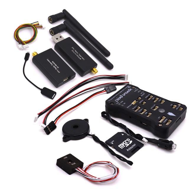 Pixhawk PX4 2.4.8 32 bit ARM Flight Controller &4G Card/Led/PPM/I2C/433/Micro SD