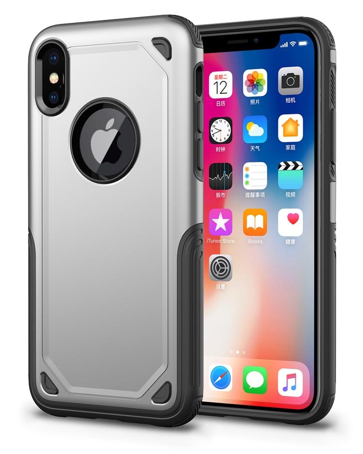 SGP Spigen Hybird Armor designer cell phone cases for iPhone X XS Max XR 8 7 6 6S Plus spigen iphone 8 plus case