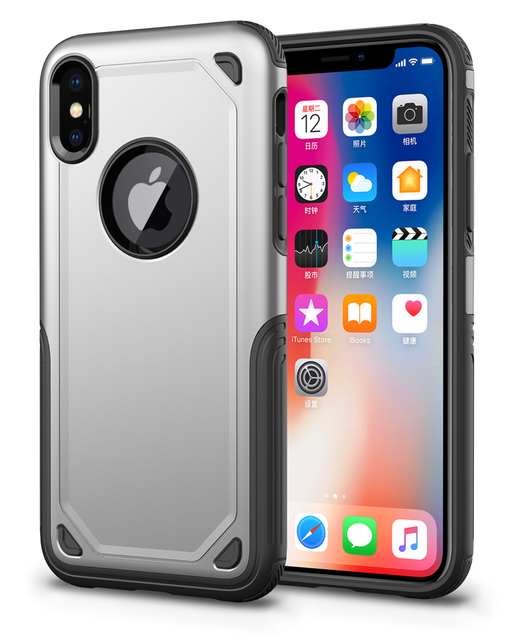 cheap for discount b4d76 d7115 US $2.75 | SGP Spigen Hybird Armor designer cell phone cases for iPhone X  XS Max XR 8 7 6 6S Plus-in Fitted Cases from Cellphones &  Telecommunications ...