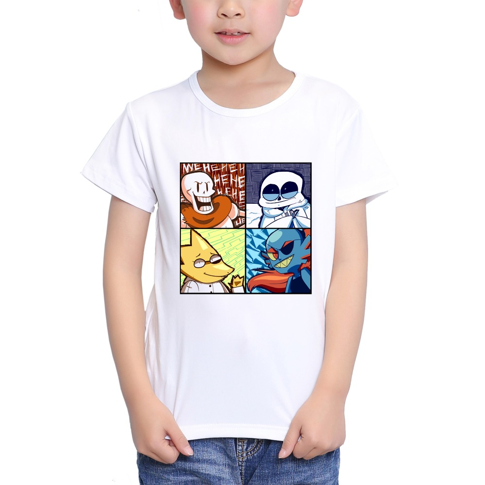 Detail Feedback Questions about TEEHEART Boys girls s Modal T shirt  Undertale Anime Printed 18M 10T Summer Children Summer Clothing TA459 on  Aliexpress.com ... cedf11e06af0