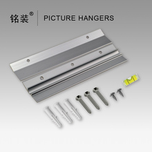 """6"""" Heavy Duty Mirror and Picture Hanger for paintings Z Bar frame Hanger Supports 50 lbs Pallet or Panel Wall Mount Bracket"""