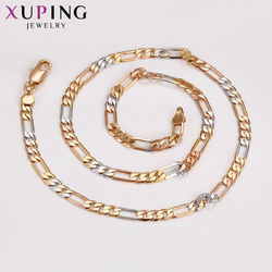 Xuping Fashion Necklace Pendant Special Design Multicolor Plated Necklace Jewelry Gift for Women Gifts S60.4-43453