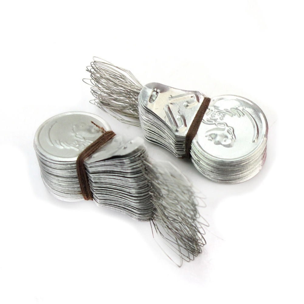 50 Pcs Stitch Insertion Accessories Needle Threader For Hand Sewing Machines